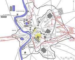 Les onze aqueducs de la Rome antique. Source : http://data.abuledu.org/URI/5043e3ac-les-onze-aqueducs-de-la-rome-antique
