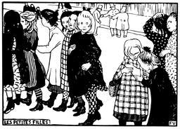 Les petites filles en 1893. Source : http://data.abuledu.org/URI/55193515-les-petites-filles-en-1893