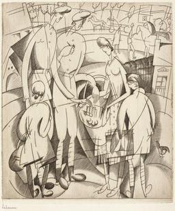 Les petits marchands du front en 1917. Source : http://data.abuledu.org/URI/5558523b-les-petits-marchands-du-front-en-1917