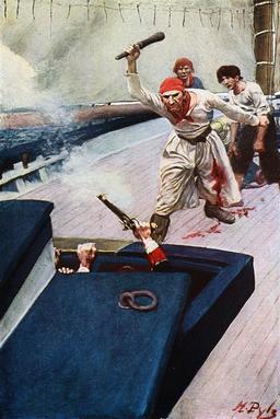 Les pirates attaquent un navire. Source : http://data.abuledu.org/URI/51855f40-les-pirates-attaquent-un-navire