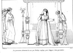 Les prétendants de l'Odyssée. Source : http://data.abuledu.org/URI/50215600-les-pretendants-de-l-odyssee