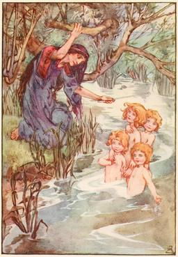 Les quatre enfants de Lir. Source : http://data.abuledu.org/URI/51ab4e8b-les-quatre-enfants-de-lir