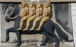 Les quatre fils d'Aymon en 1786. Source : http://data.abuledu.org/URI/5942e960-les-quatre-fils-d-aymon-en-1786
