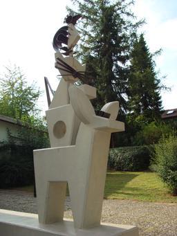 Les quatre musiciens de Brême. Source : http://data.abuledu.org/URI/54a19347-les-quatre-musiciens-de-breme