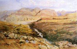 Les ruines de Petra en Jordanie. Source : http://data.abuledu.org/URI/47f52cbd-les-ruines-de-petra-en-jordanie