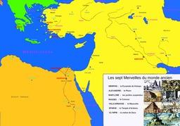 Les Sept Merveilles Du Monde Ancien. Source : http://data.abuledu.org/URI/509130aa-les-sept-merveilles-du-monde-ancien