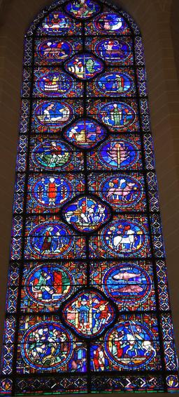 Les signes du zodiaque à Chartres. Source : http://data.abuledu.org/URI/533b1fe5-les-signes-du-zodiaque-a-chartres