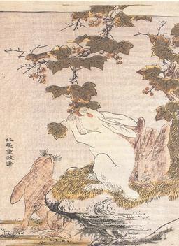 Les trois lièvres et la vigne. Source : http://data.abuledu.org/URI/535bafff-les-trois-lievres-et-la-vigne