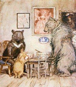 Les trois ours. Source : http://data.abuledu.org/URI/47f5d099-les-trois-ours