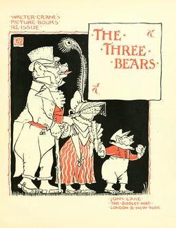 Les trois ours par Walter Crane - 29. Source : http://data.abuledu.org/URI/58f52ff0-les-trois-ours-par-walter-crane-29