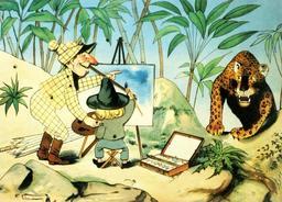 Les voyages du petit peintre. Source : http://data.abuledu.org/URI/51ef0c21-les-voyages-du-petit-poucet