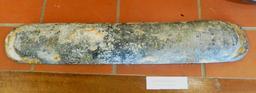 Lest en plomb en provenance des recherches archéologiques à Vanikoro. Source : http://data.abuledu.org/URI/596e41b0-lest-en-plomb-en-provenance-des-recherches-archeologiques-a-vanikoro