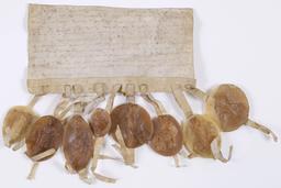 Lettre circulaire pour le couronnement de Louis IX. Source : http://data.abuledu.org/URI/56c98827-lettre-circulaire-pour-le-couronnement-de-louis-ix