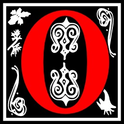 Lettre initiale O. Source : http://data.abuledu.org/URI/50e4db32-lettre-initiale-o