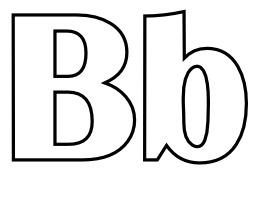 Lettres B et b à colorier. Source : http://data.abuledu.org/URI/5331e716-lettres-b-et-b-a-colorier
