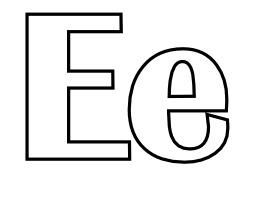 Lettres E et e à colorier. Source : http://data.abuledu.org/URI/5331eb5a-lettres-e-et-e-a-colorier