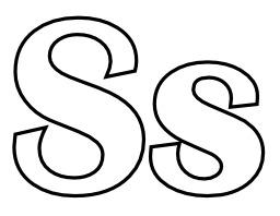 Lettres S et s à colorier. Source : http://data.abuledu.org/URI/5331f14b-lettres-s-et-s-a-colorier