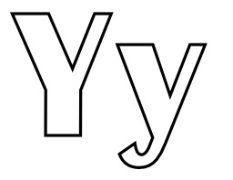 Lettres Y et y à colorier. Source : http://data.abuledu.org/URI/5331f636-lettres-y-et-y-a-colorier