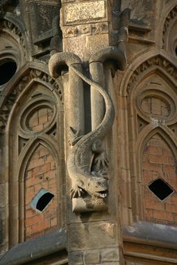 Lézard en pierre à Barcelone. Source : http://data.abuledu.org/URI/535cd839-lezard-en-pierre-a-barcelone