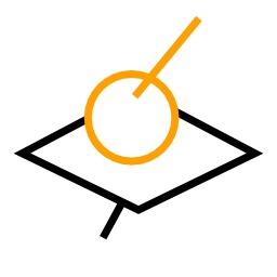 Liaison ponctuelle 3D vectorielle. Source : http://data.abuledu.org/URI/50c73741-liaison-ponctuelle-3d-vectorielle