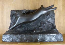 Lièvre en bronze. Source : http://data.abuledu.org/URI/52b2052c-lievre-en-bronze