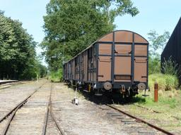 Ligne pour Marquèze en gare de Sabres. Source : http://data.abuledu.org/URI/58284490-ligne-pour-marqueze-en-gare-de-sabres