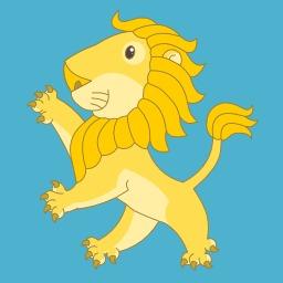 Lionceau debout. Source : http://data.abuledu.org/URI/5251c75b-lionceau-debout