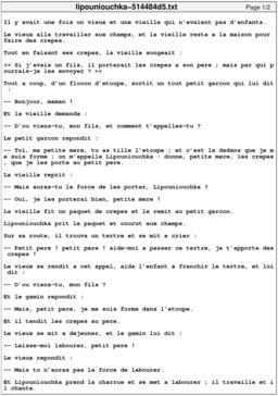 Lipouniouchka. Source : http://data.abuledu.org/URI/514484d5-lipouniouchka