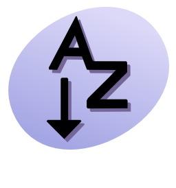 Liste de A à Z. Source : http://data.abuledu.org/URI/5049ea90-liste-de-a-a-z