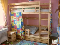 Lits superposés dans une chambre d'enfants. Source : http://data.abuledu.org/URI/535ea861-lits-superposes-dans-une-chambre-d-enfants