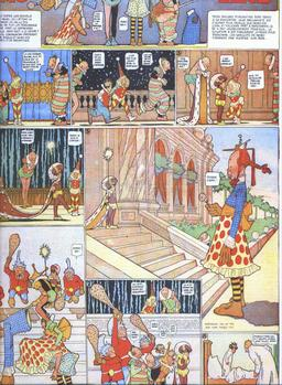 Little Nemo et le poisson d'avril en 1906. Source : http://data.abuledu.org/URI/564254d9-little-nemo-et-le-poisson-d-avril-en-1906