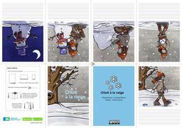 Livret de Chloé à la neige. Source : http://data.abuledu.org/URI/566b7d2f-livret-de-chloe-a-la-neige