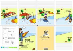 Livret de Chloé à la plage. Source : http://data.abuledu.org/URI/566b7d86-livret-de-chloe-a-la-plage