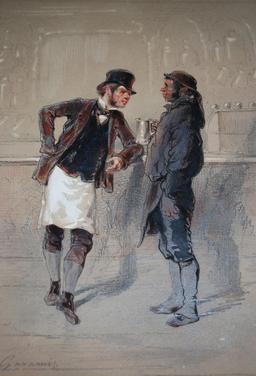Livreurs : voiturier et charbonnier anglais. Source : http://data.abuledu.org/URI/515089b1-livreurs-voiturier-et-charbonnier-anglais