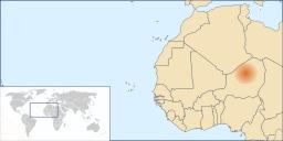 Localisation de l'erg de Ténéré. Source : http://data.abuledu.org/URI/52d1c4d8-localisation-de-l-erg-de-tenere