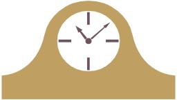 Logo d'horloge. Source : http://data.abuledu.org/URI/50478608-logo-d-horloge