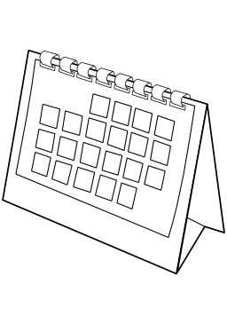 Logo de calendrier. Source : http://data.abuledu.org/URI/50d6f680-logo-de-calendrier