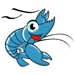 Logo de crevette. Source : http://data.abuledu.org/URI/50e60317-logo-de-crevette