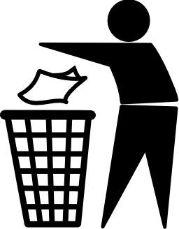 Logo de poubelle. Source : http://data.abuledu.org/URI/502cf270-logo-de-poubelle
