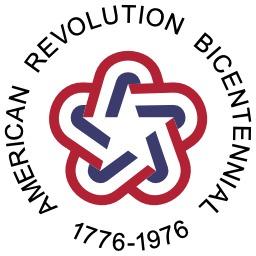 Logo du bicentenaire de la Révolution Américaine. Source : http://data.abuledu.org/URI/517f7de2-logo-du-bicentenaire-de-la-revolution-americaine