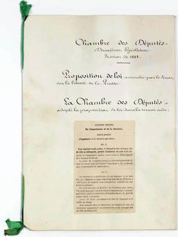 Loi sur la liberté de la presse. Source : http://data.abuledu.org/URI/59430014-loi-sur-la-liberte-de-la-presse