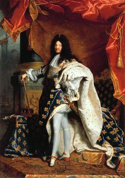 Louis XIV en costume de sacre. Source : http://data.abuledu.org/URI/5043cac0-louis-xiv-en-costume-de-sacre