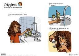 Luna se brosse les dents - BD 01. Source : http://data.abuledu.org/URI/5836cce8-luna-se-brosse-les-dents-bd-01