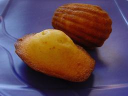 Madeleines de Commercy. Source : http://data.abuledu.org/URI/5097db9d-madeleines-de-commercy