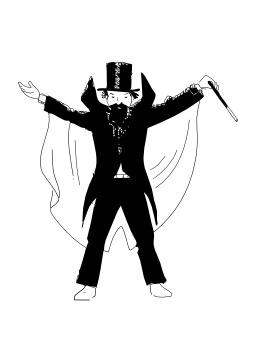 Magicien. Source : http://data.abuledu.org/URI/5026c03b-magicien
