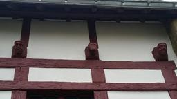 Maison à colombage de Port-Goustan. Source : http://data.abuledu.org/URI/56d162d9-maison-a-colombage-de-port-goustan