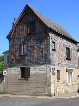 Maison ancienne à Amboise. Source : http://data.abuledu.org/URI/55dd8aa4-maison-ancienne-a-amboise