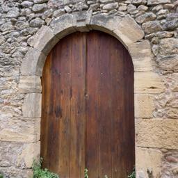 Maison ancienne à Saint-Macaire-33. Source : http://data.abuledu.org/URI/599a9e03-maison-ancienne-a-saint-macaire-33