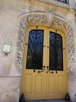 Maison art nouveau avenue Foch à Nancy. Source : http://data.abuledu.org/URI/5819088e-maison-art-nouveau-avenue-foch-a-nancy