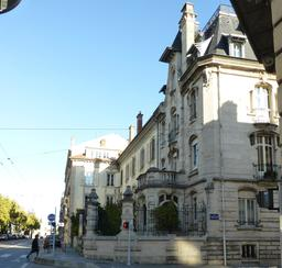 Maison art nouveau avenue Foch à Nancy. Source : http://data.abuledu.org/URI/58190fc5-maison-art-nouveau-avenue-foch-a-nancy